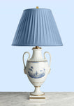 E039  A Large, Vintage, Italian Formal Urn Shaped Lamp by Richard Ginori - Circa 1960