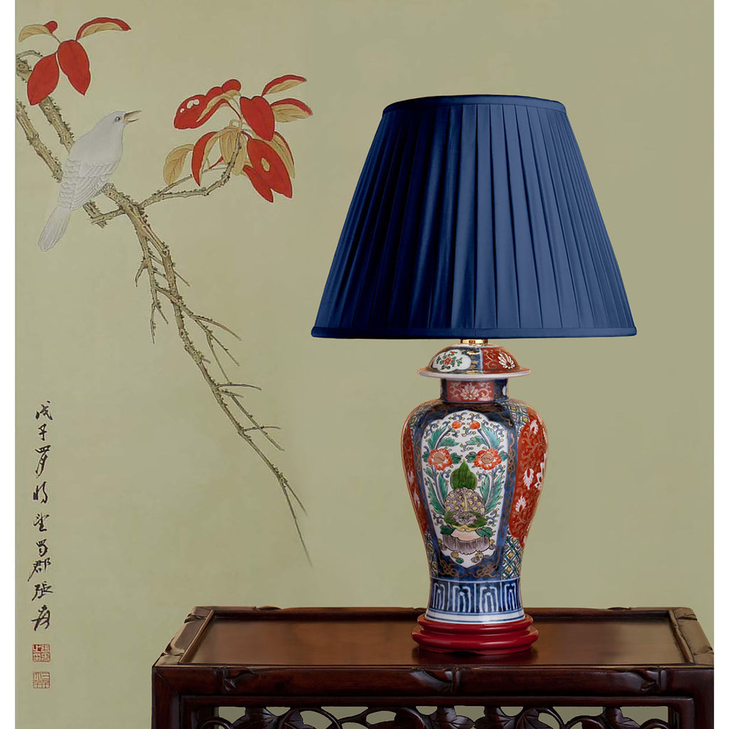 "E043  A 19th Century Japanese Imari Lamp Decorated with ""The Tortoise"" - Circa 1870"