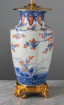 E061 An Outstandingly Decorative, Very Tall Meiji Era, Japanese Imari Lamp - Circa 1870