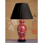E068 A Very Decorative Vintage English Art Deco Carltonware Lamp - Circa 1925-1930