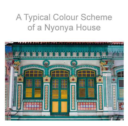 typical Nyonya house.
