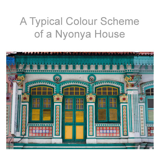 Decoration of the typical Nyonya house.