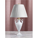 E085  A Vintage German, White Kaiser Swans' Neck Accent Lamp - Circa 1960's