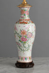 A Very Pretty 19th Century Chinese, Cantonese Export Lamp - Circa 1900