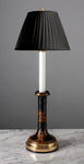 F030  A Smart English 19th Century, Greek Revival Candle Stick Lamp - Circa 1860