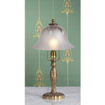 F031  An American Pairpoint Boudoir Lamp Of The Art Nouveau Era - Circa 1905-1910