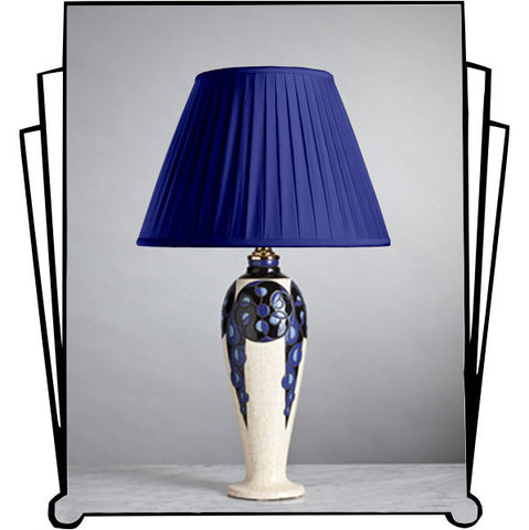 F053  An Elegant French Sceaux, Marcel Renson Lamp, Art Deco Era - Circa 1925