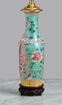 F065  A Tall Chinese Nyonya Lamp of Outstanding Quality - Circa 1890-1900