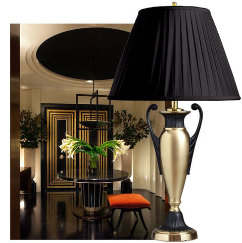 F068 A Smart American Hollywood Regency Lamp By Frederick Cooper -  Circa 1930