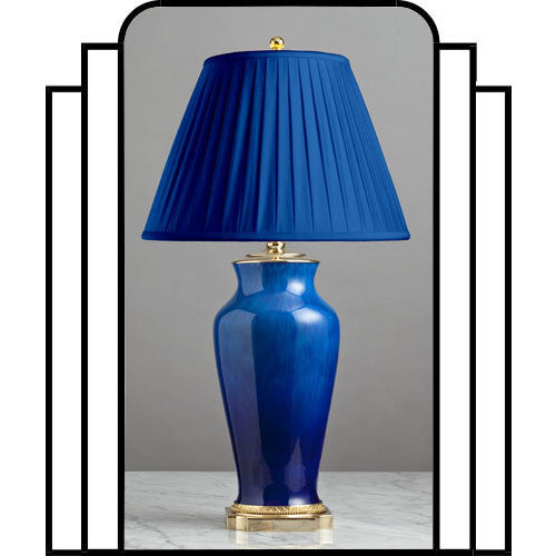 F070  A French Art Deco Lamp Produced at Sèvres Designed by Paul Milet - Circa 1930's
