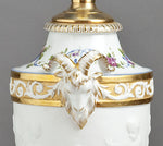 F081 An 19th Century, French, Porcelaine de Paris Lamp in Sèvres Style - Circa 1890