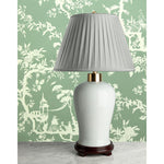 F088  A Contemporary Chinese Moonlight Celadon Lamp of Classic Style
