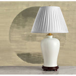 G002   A Large Classic Contemporary Chinese Moonlight Glazed Lamp Of Mei Ping Shape