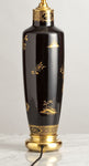 G018  A Very Decorative & Stylish, English Art Deco Period Chinoiserie Lamp - Circa 1925