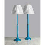 G053  A Tall and Slender Pair Of Vintage French Tôleware  Lamps - Circa 1960's