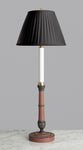 G054 A Smart Marbro Candlestick Accent Lamp In Roman Revival Style Circa - 1950's