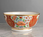 A Rare English Regency Era Coalport Porcelain Punch Bowl - Circa 1800-1810