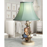 "G075 A Charming Little Hummel Accent Lamp / Night Light ""Apple Tree Girl"" - Circa 1950's"