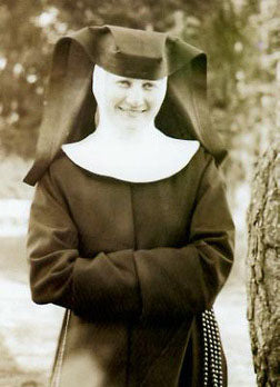 A rare photograph of Sister Hummel taken around 1942.