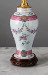 G076 A Very Pretty Little 19th Century French Samson of Paris Accent Lamp - Circa 1880