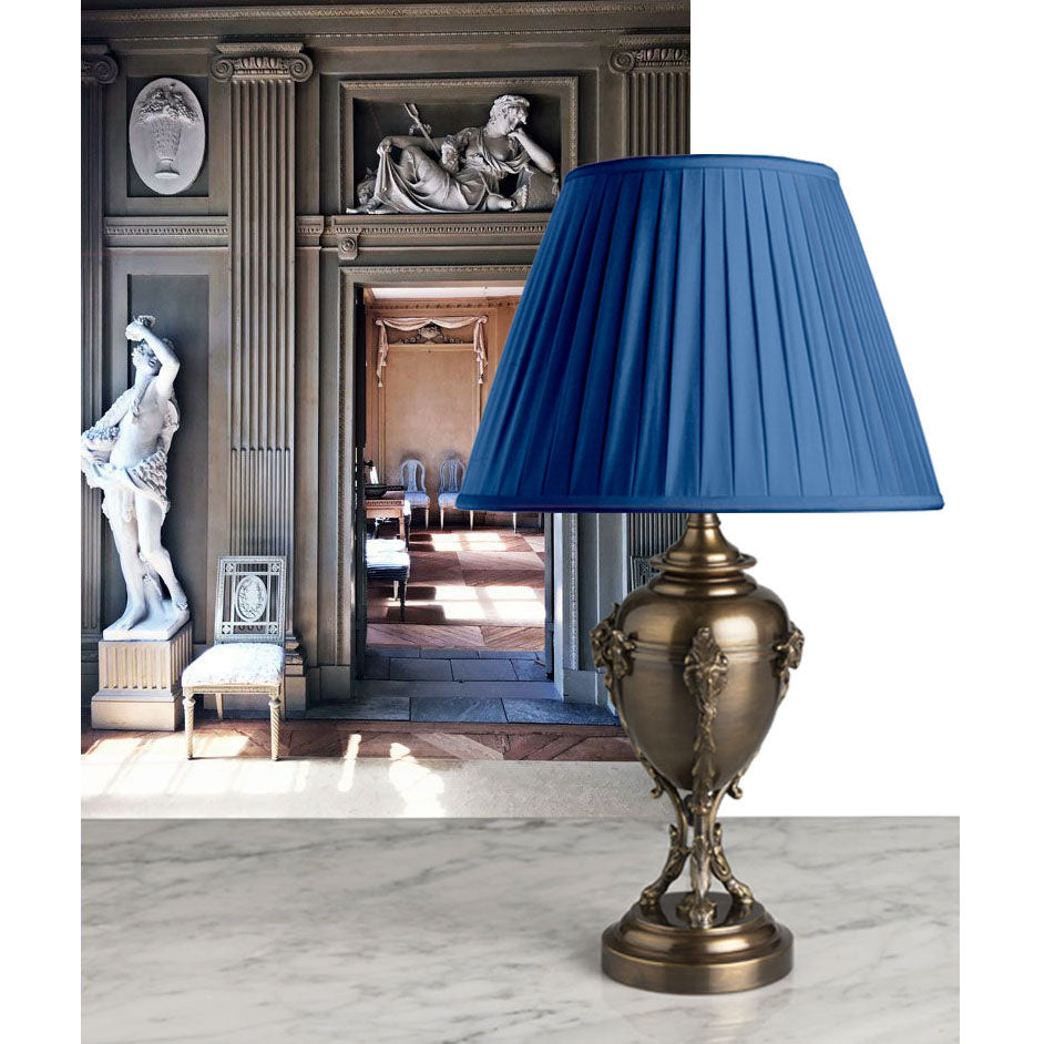 A Smart, French, Bronze Accent Lamp in Napoléonic First Empire Style Circa-1870
