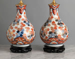A Large Pair of 19th century Japanese Edo Period Ko Imari Lamps - Circa 1850