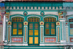 the decoration of the typical Nyonya house.