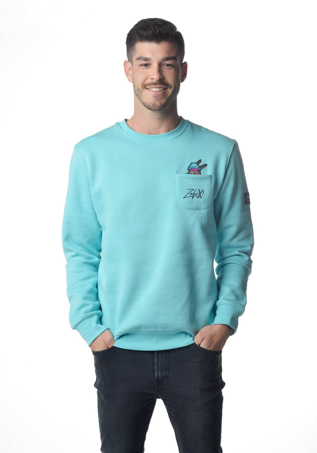 Taschen Winter Grantler Sweatshirt türkis Men