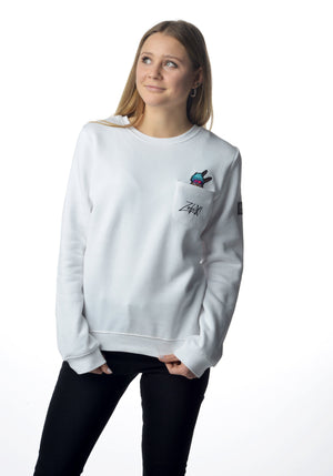 Winter Grantler Sweater weiß Girls