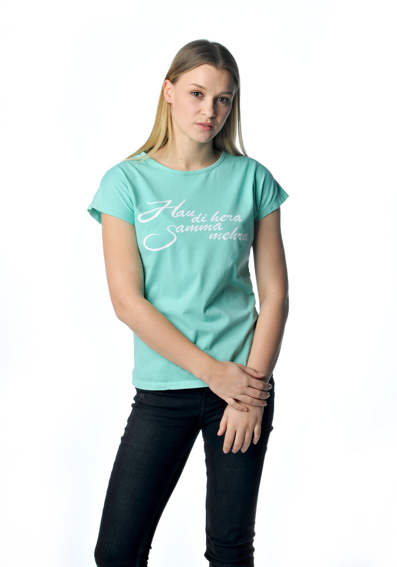 Hau di hera Shirt Mint Girls