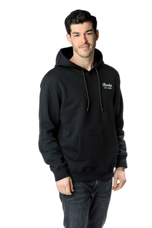 Winter Grantler Backprint Hoodie schwarz