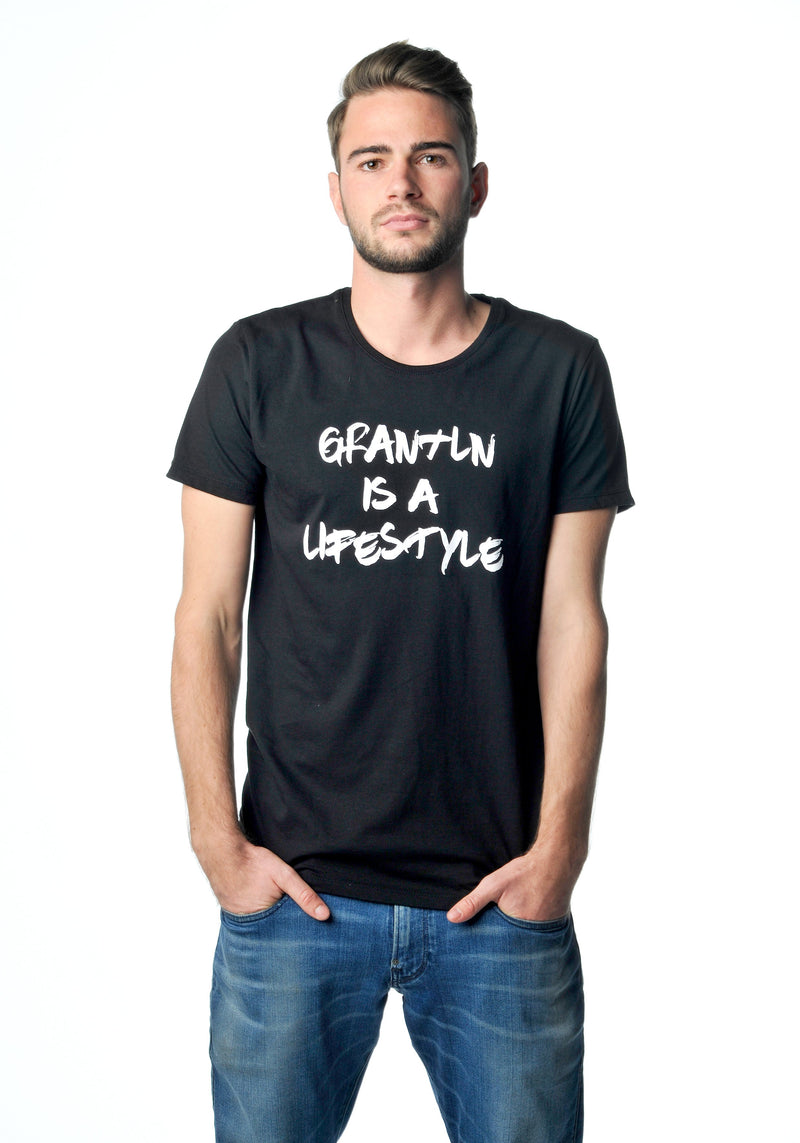 Grantln is a Lifestyle Shirt black Men