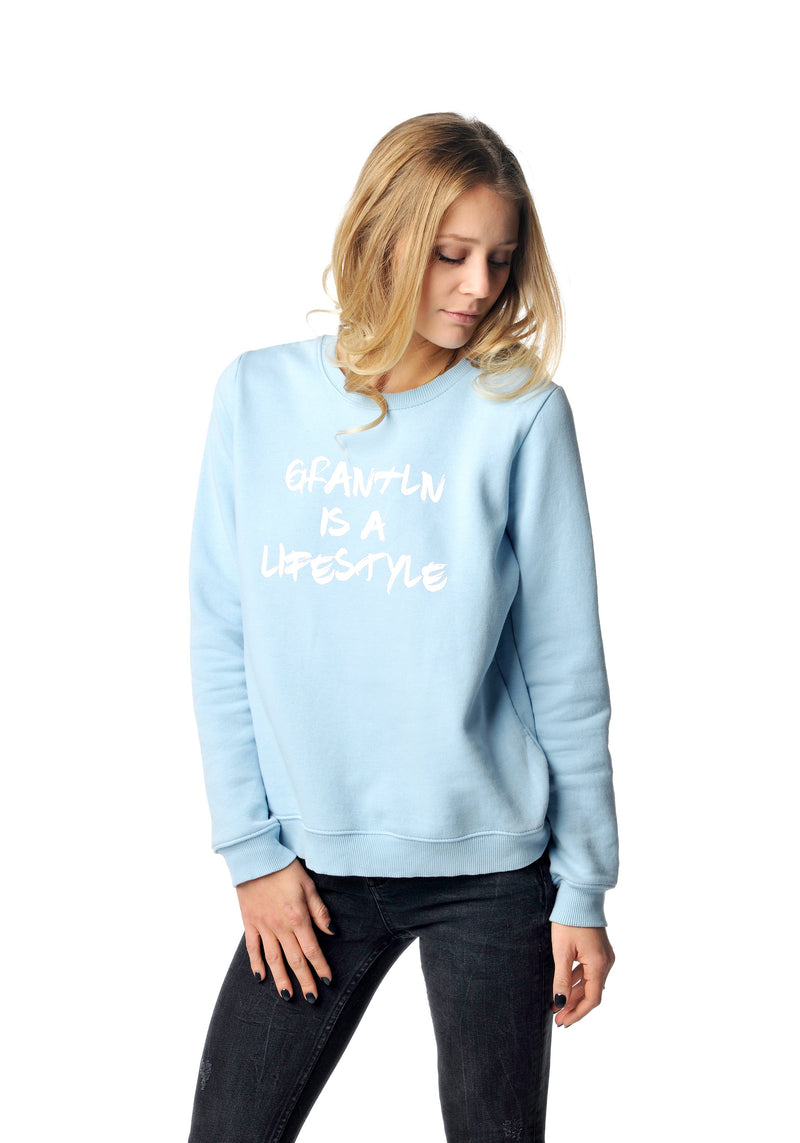 Grantln Sweater light blue Girls