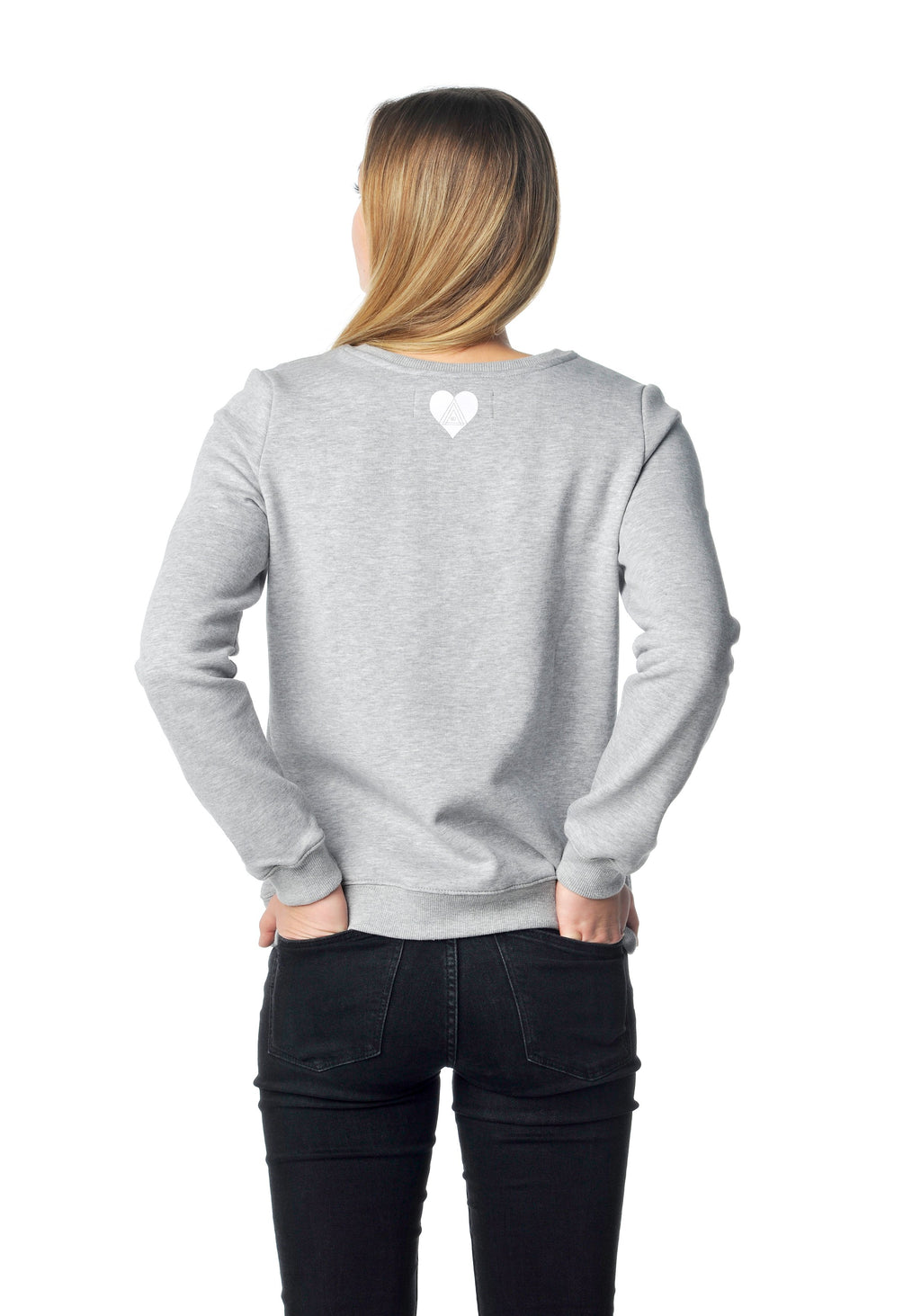 Hau di hera Sweater grau Girls