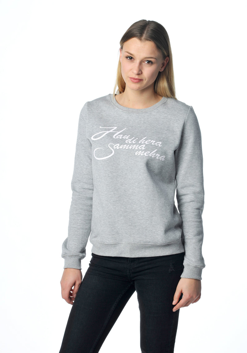 Hau di hera Sweater grey Girls