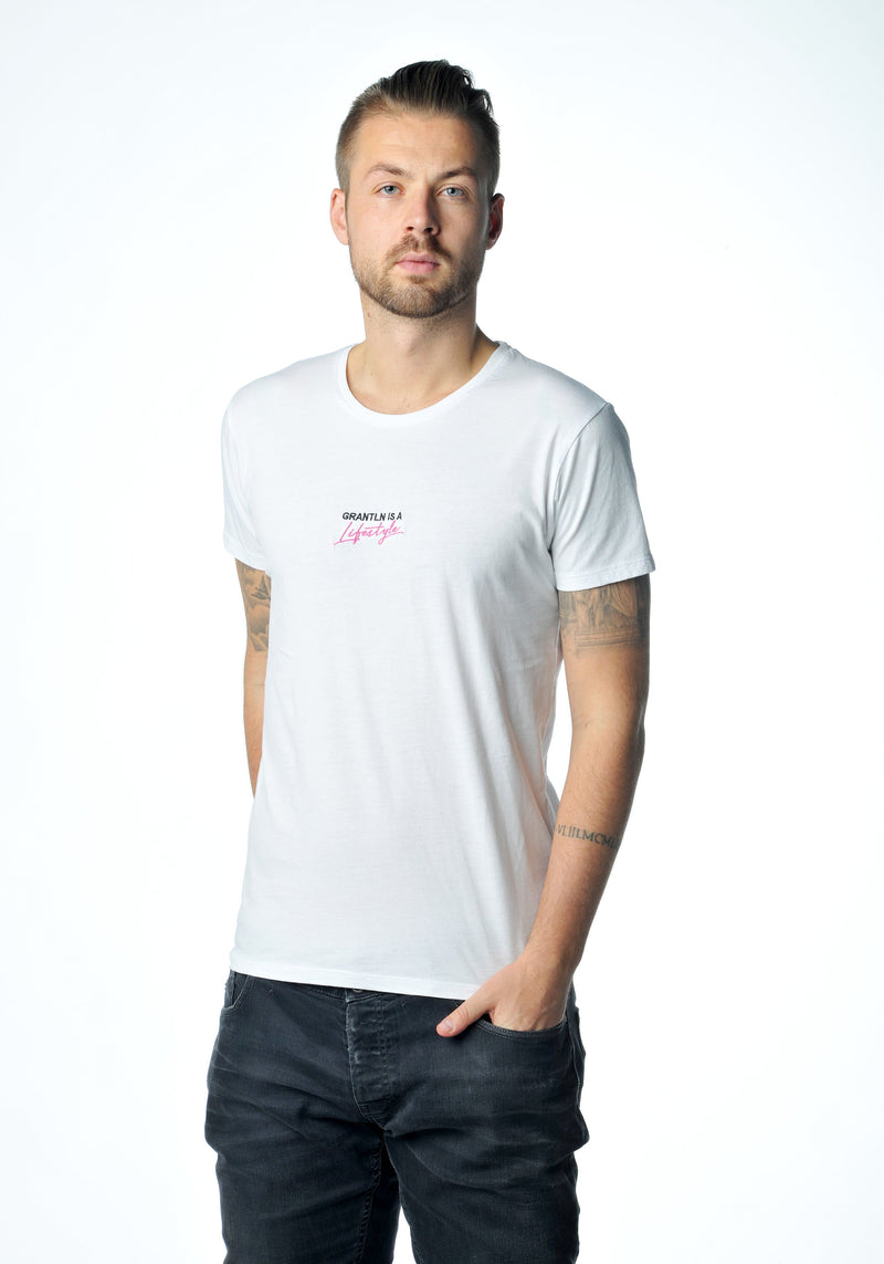 Lifestyle-Shirt Neon-Pink Men
