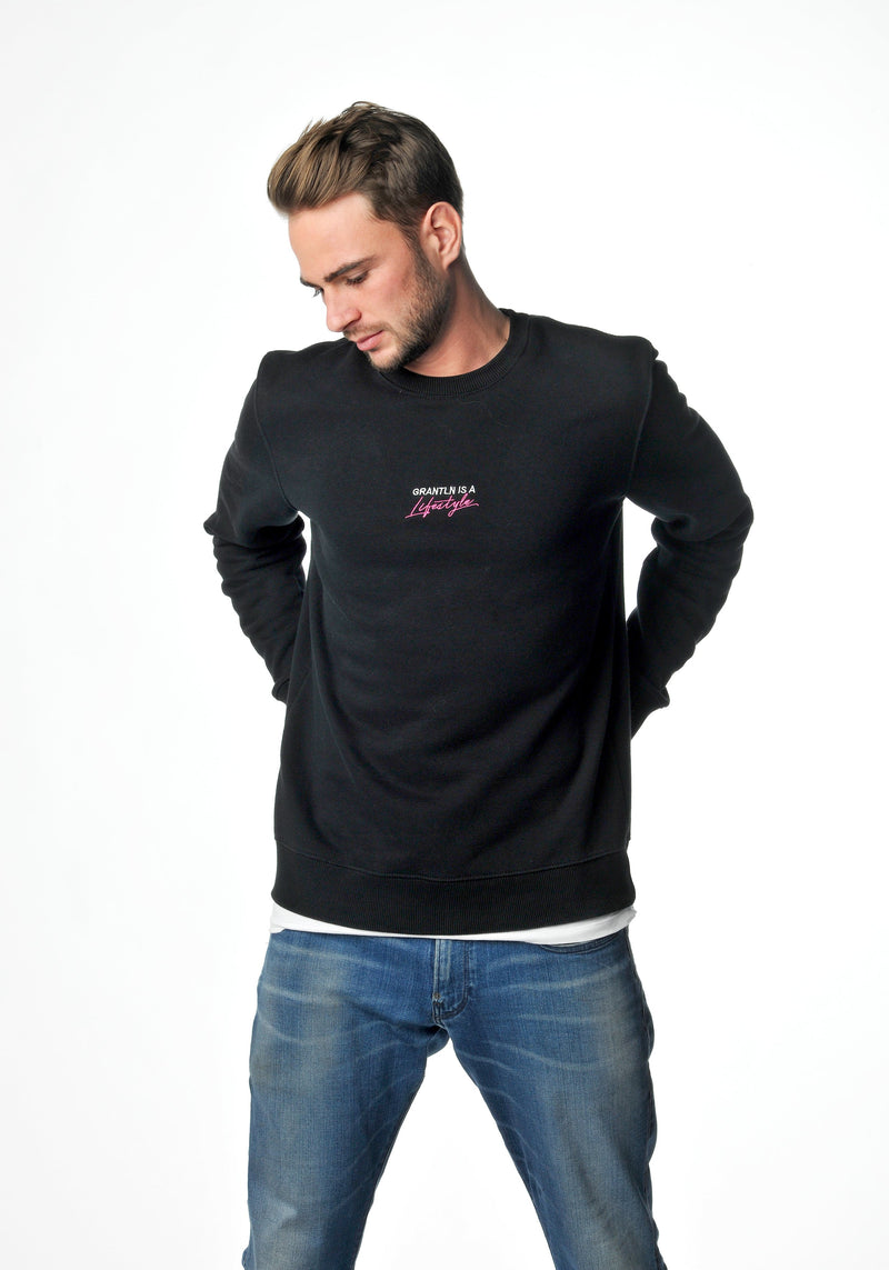 Lifestyle-Sweater Neon-Pink Men