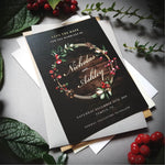 Christmas Winter , Sienna Mai Personalised Wedding Invitations