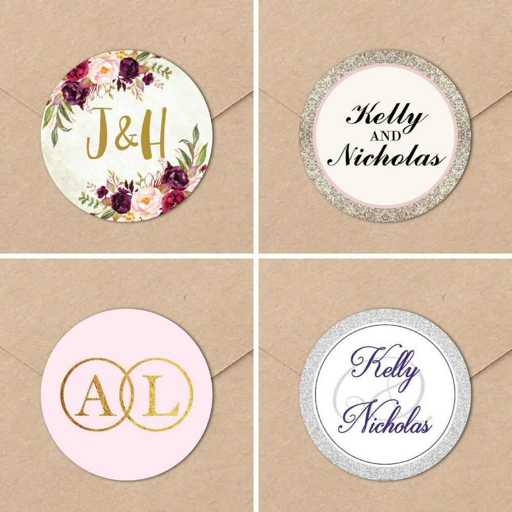 Envelope Seals , Sienna Mai Personalised Wedding Invitations