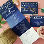 Fairy Lights Wedding Invitations