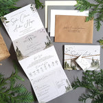 Misty Forest Wedding Invitations
