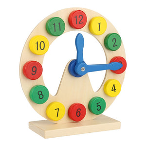 About that time wooden clock