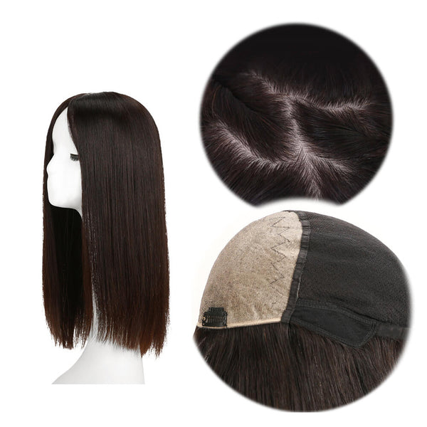 Front Top Silk Base Full Lace Wig