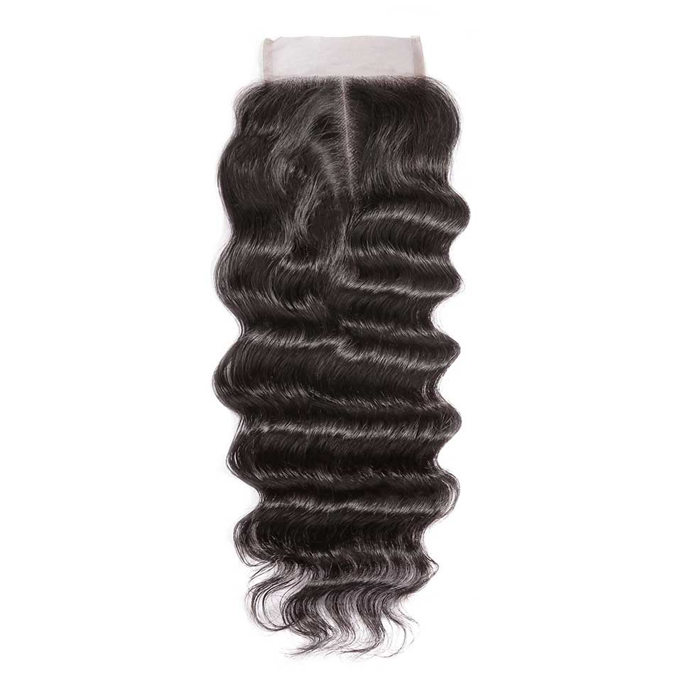 Natural Wave Natural Black 4x4 Lace Closure With Baby Hair