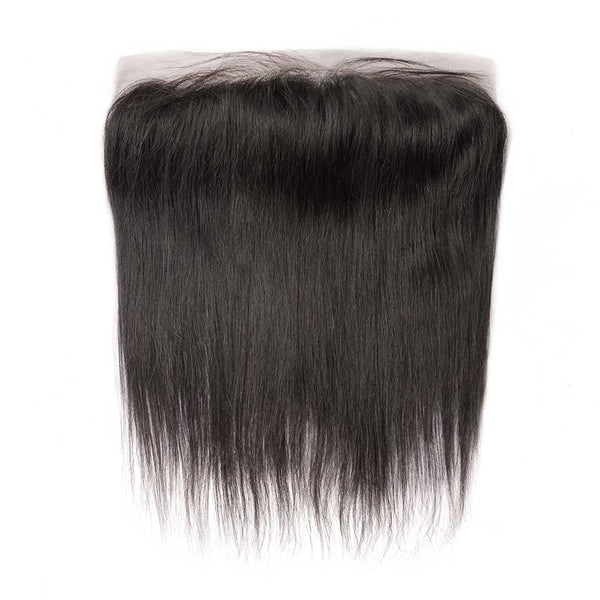 Straight Natural Black 13x4 Lace Frontal