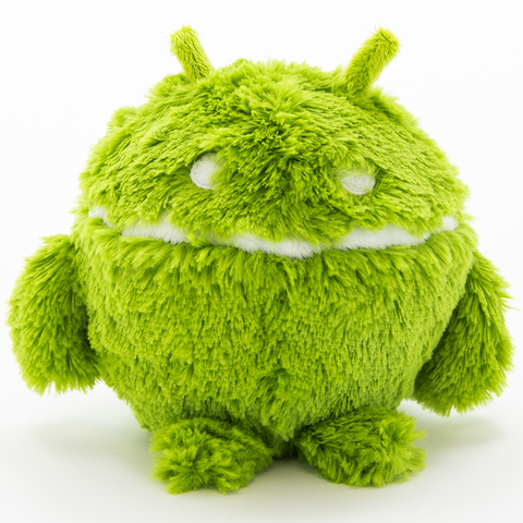 Android Rattle Plush