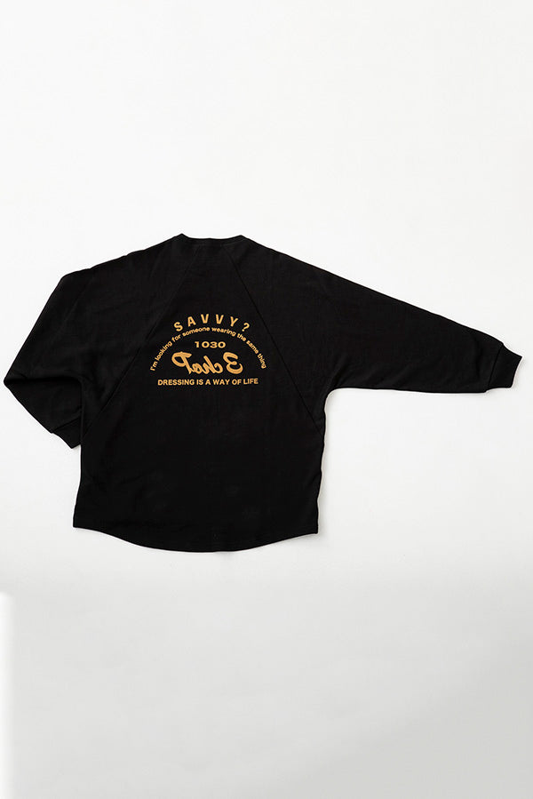 【池田美優】BACK LOGO SWEAT