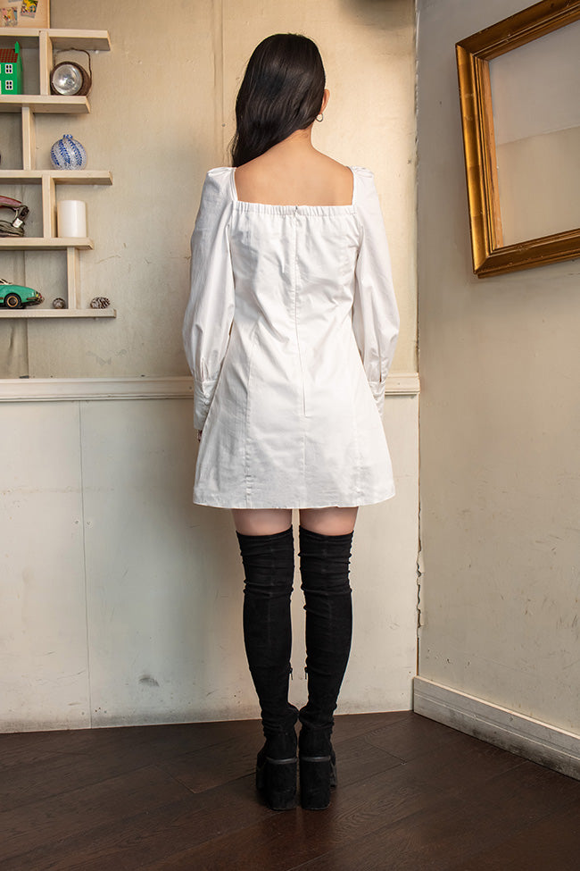 【よしあき&ミチ】COTTON TIGHT DRESS