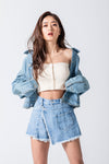 【池田美優】DENIM  JACKET