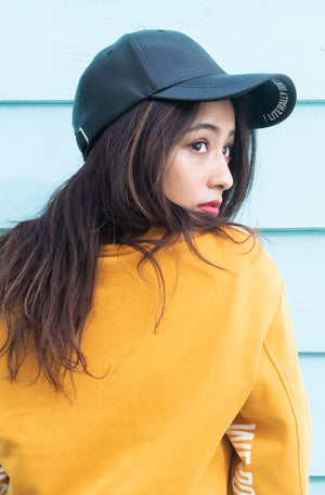 【Maaaya】6PANEL LEATHER CAP